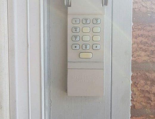 garage door keypad repair