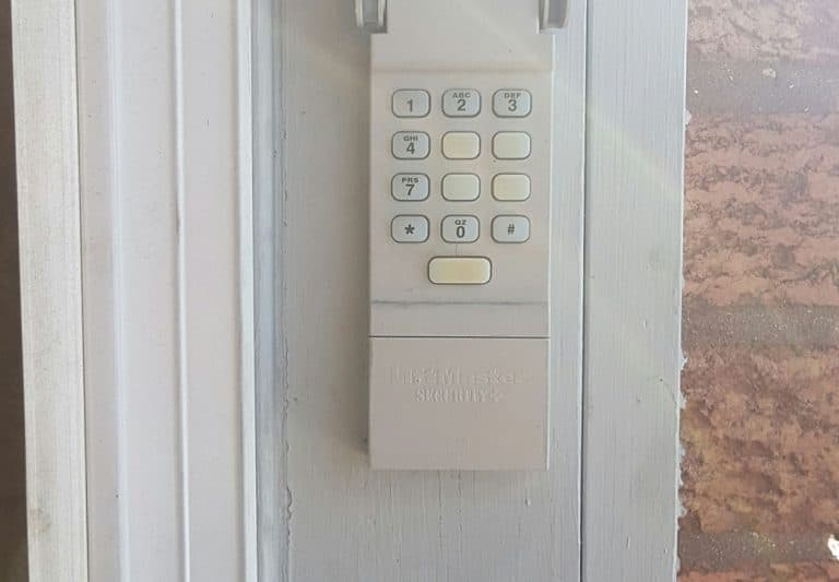 garage door keypad repair