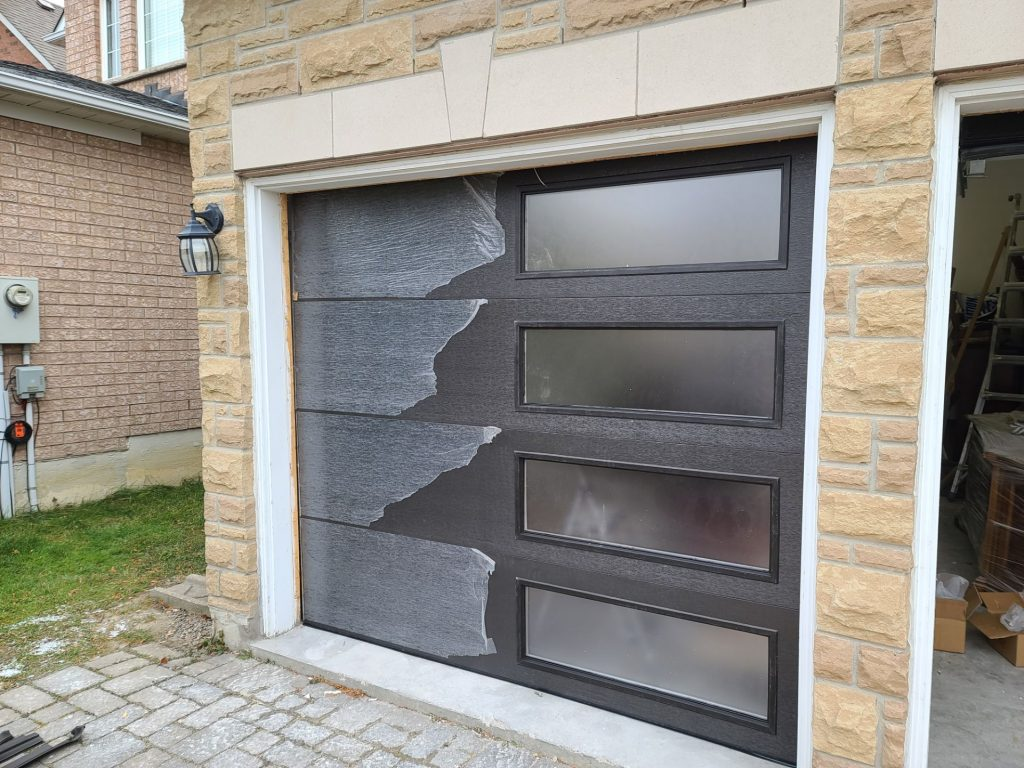New Garage Door Installation by Fix It Right Oakville